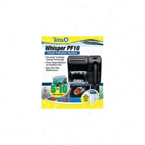 United Pet Group Tetra - Whisper Pf10 Fleet Percolate 5-10 Gallon - 26316