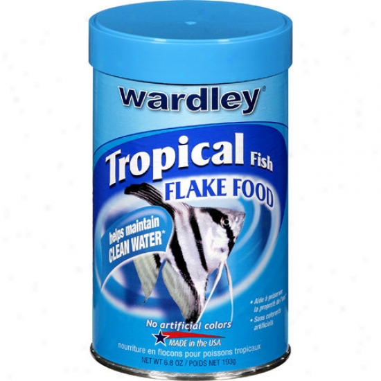 Wardley Corp Tropical Flakes 6. 8 Ounces - 1517
