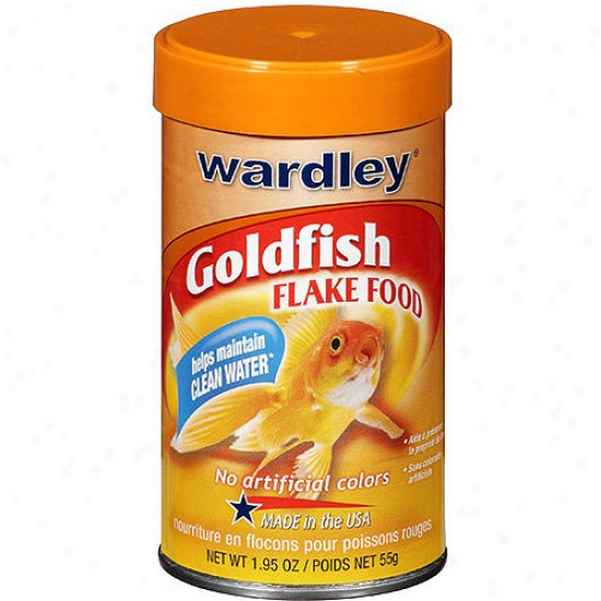 Wardley Goldfish Flakes, 1.95 Oz