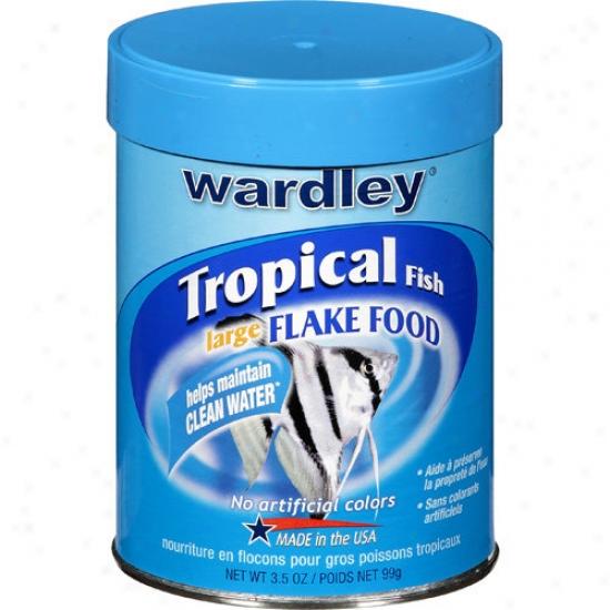 Wardley Products Awa1512 Large Tropical Flakes 3. 5oz