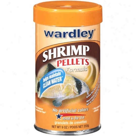 Wardley: Shrimp Formula Psllets, 9 Oz
