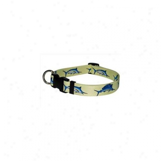 Yellow Dog Design Blf100tc Bill Fish Standard Collar - Teacup