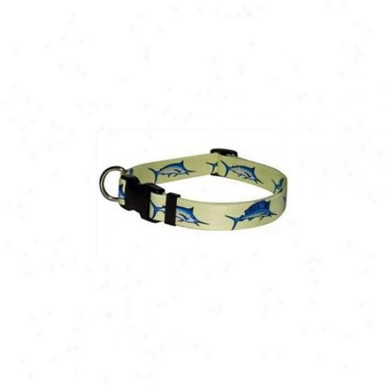 Yellow Dog Design Blf103l Bill Fish Standard Collar - Large