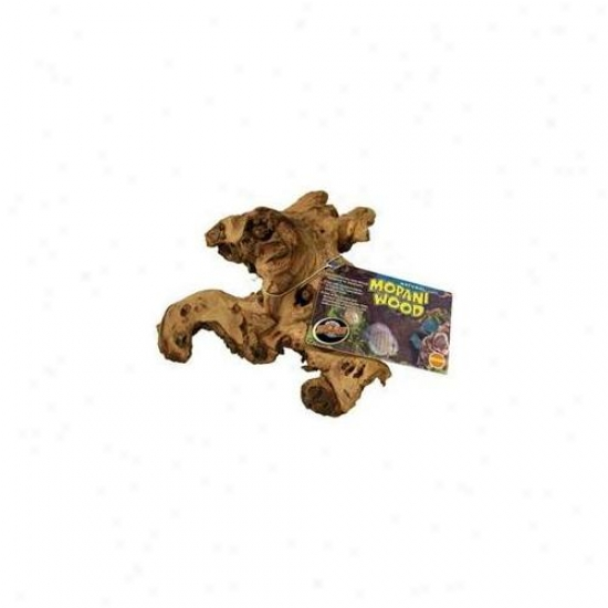 Zoo Med Laboratories Azmmaa Mopani Wood Assorted 4 Small-3 Mexium - 2 Large- 1 Jumbo Aquarium Tag