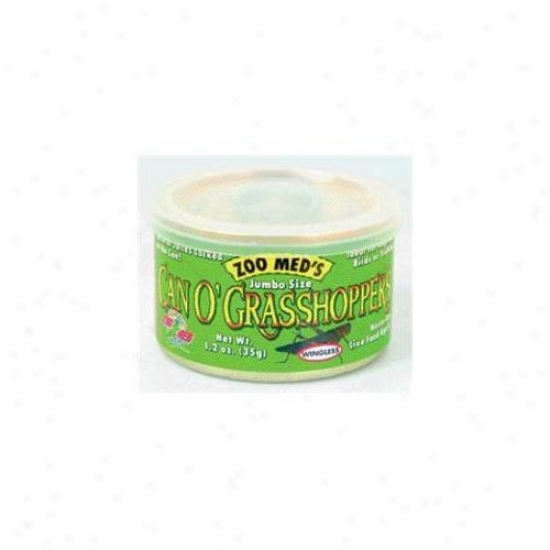 Zoo Med Labora5ories Be able to O Grasshoppers Jumbo - Zm-44