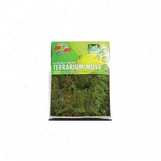 Zoo Med Laboratories - Terrarium Moss 10 Gallon - Cf2-m