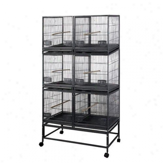 A&e Cage Co. 6 Unit Breeder Bird Cage
