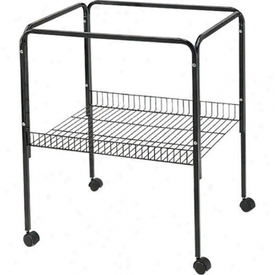 A&e Cage Co. Black Bird Cage Stand