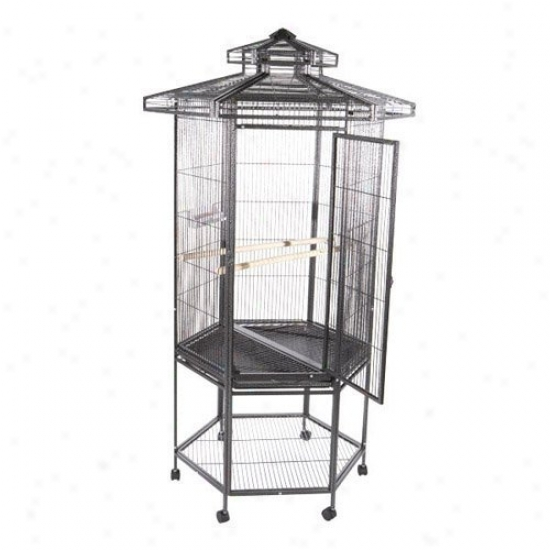 A&e Cage Co. Hexagonal Bird Cage With 27 In. Panels