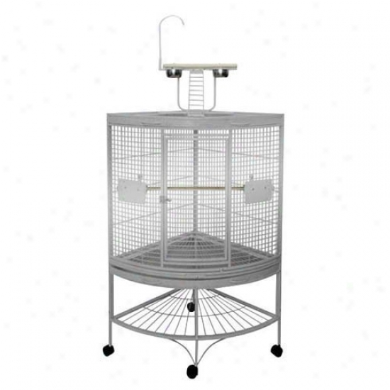 A&e Cage Co. Medium Corner Bird Cage Cc2727