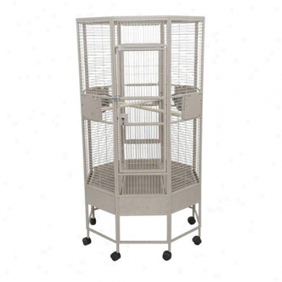 A&e Cage Co. Octagon Parrot Bird Cage