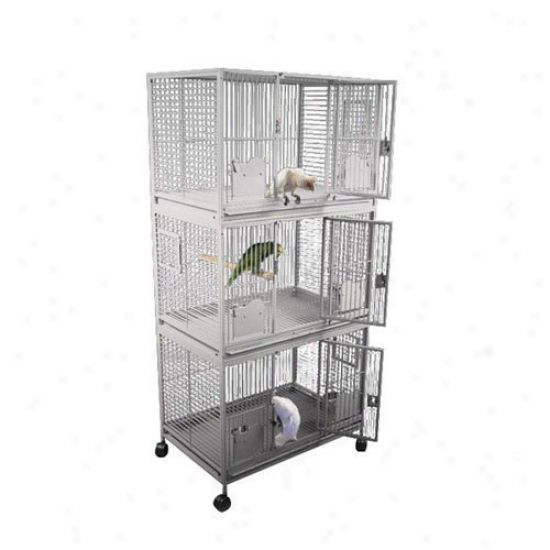 A&e Cage Co. Sanibel Triple Stack Biird Cage