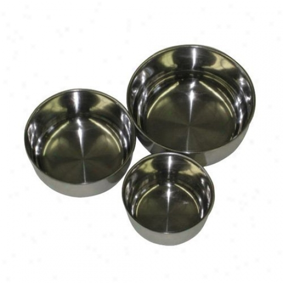 A&ammp;e Cage Co. Screw In Stainless Steel Bowl