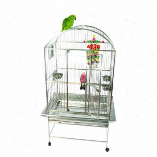 A&e Cage Co. Unsullied Steel Premium Bayard Dometop Bird Cage