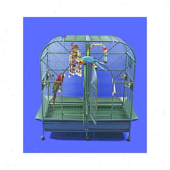 A&e Cage Co. Domw Top Style Double Macaw Bird Cage