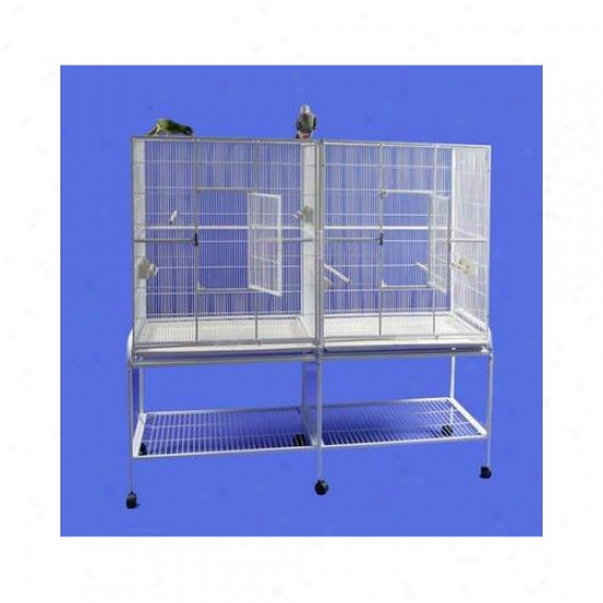 A&e Cage Co. Coupled Flight Bird Cage With Divider