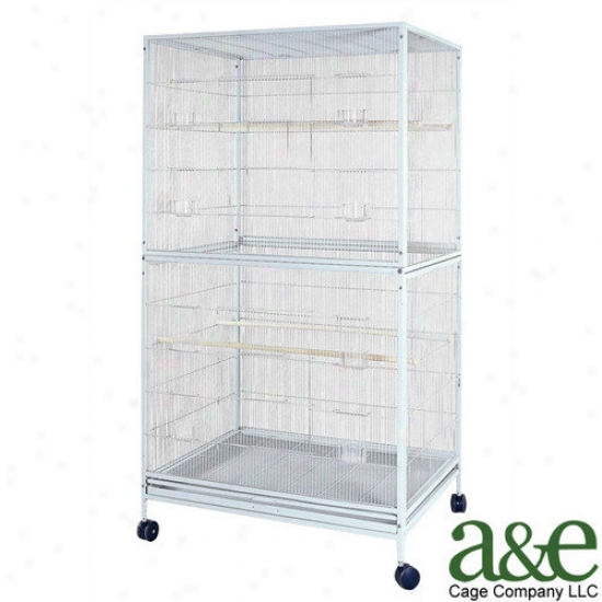 A&e Cage Co. Extra Large Flight Bird Cage