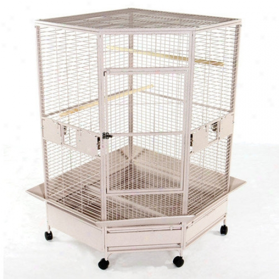 A&e Cage Co. Giant Corner Bird Cage