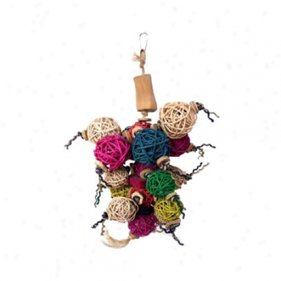 A&e Cage Co. Java Forest Ball Thing Bird Toy