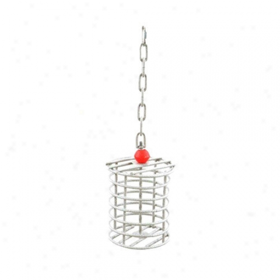 A&e Cage Co. Large Round Bird Toy Feeeder
