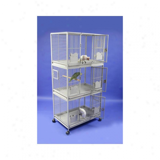 A&e Cage Co. Large Triple Stack Bird Cage