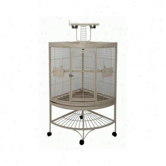 A&e Cage Co. Medium Corner Bird Cage