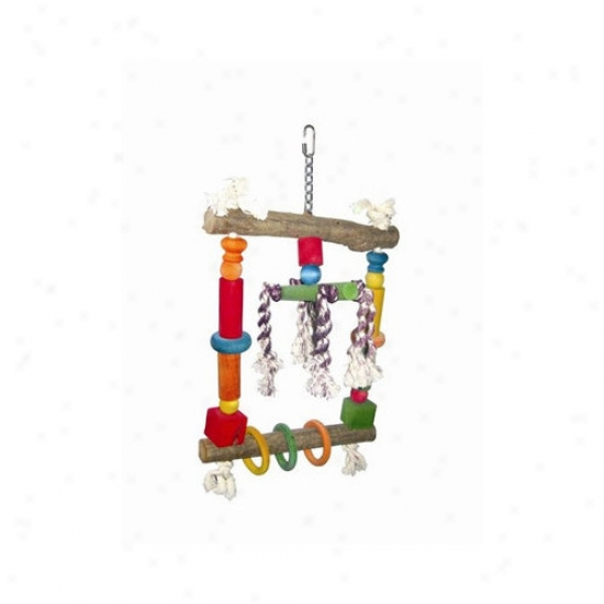 A&e Cage Co. Natural Forest Swing With Rope