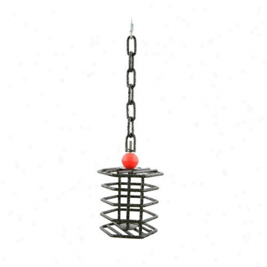A&e Cage Co. Small Hex Bird Toy Feeder