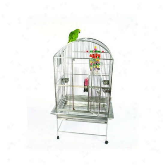 A&r Cage Co. Petty Stainless Hardness Dome Top Bird Cage