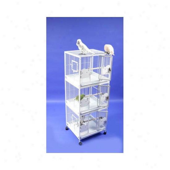 A&e Cage Co. Small Triple Stack Fowl Cage