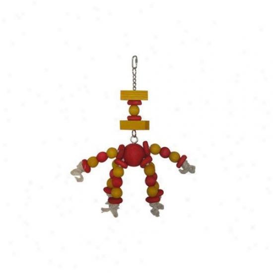 A&e Cage Co. Sputnik 18'' Bird Toy