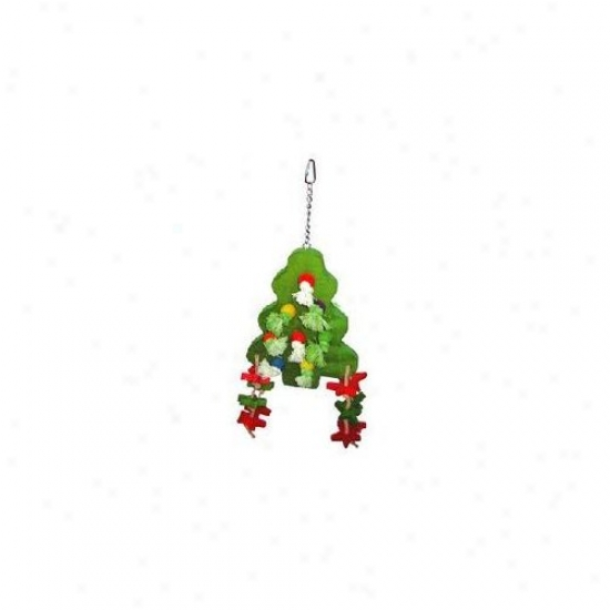 A&e Cage Co The Christmas Tree Bird Toy