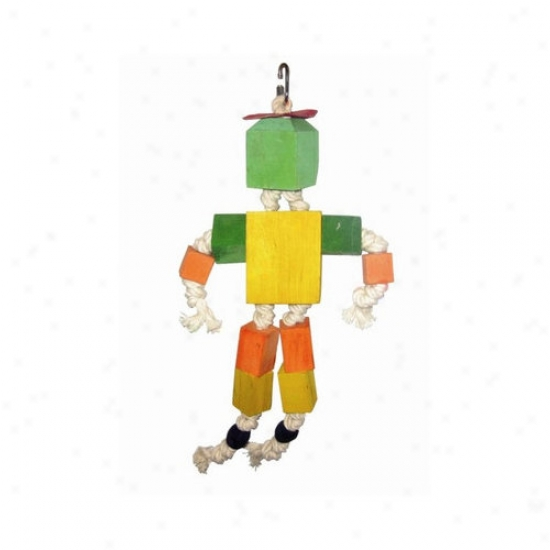 A&e Cage Co. Wood Block Man