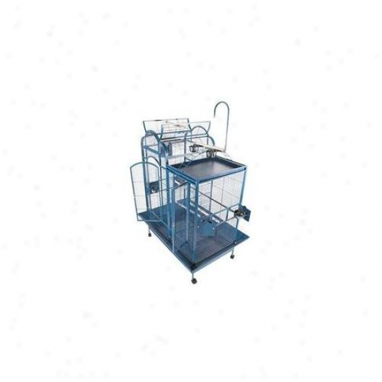 A&e Cages Ae-pc-4226db Small Split Level oHuse Bird Cage - Negro