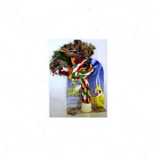 Aspen Pet Boodz 305-56308 Aspen Pet Booda Burdy Bush Multicolor Large Fowl Toy