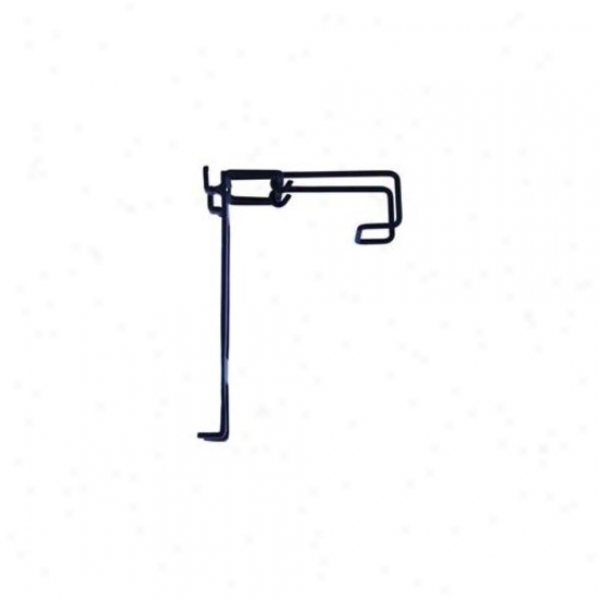 Austram 2 Piece Black Rail Hook Set  27061508 - Pack Of 6