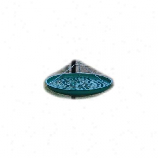 Backyard Birding Solytions Seed Saucer Green