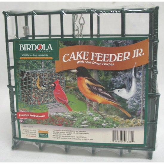 Birdola Products Cake Feeder Junior Wild Bird Food