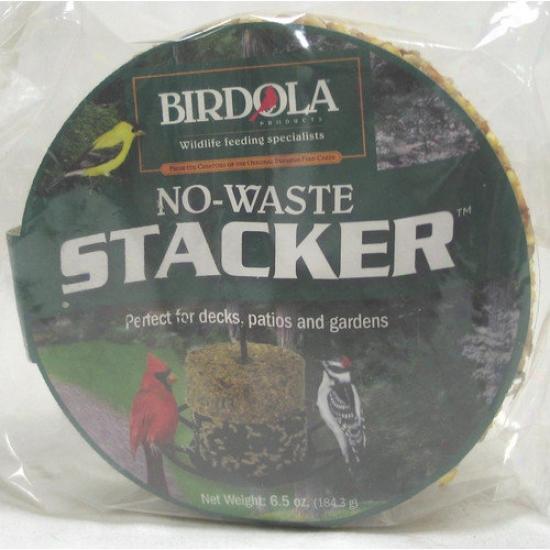 Birdola Products No-waste Stacker Cake Wild Bird Food