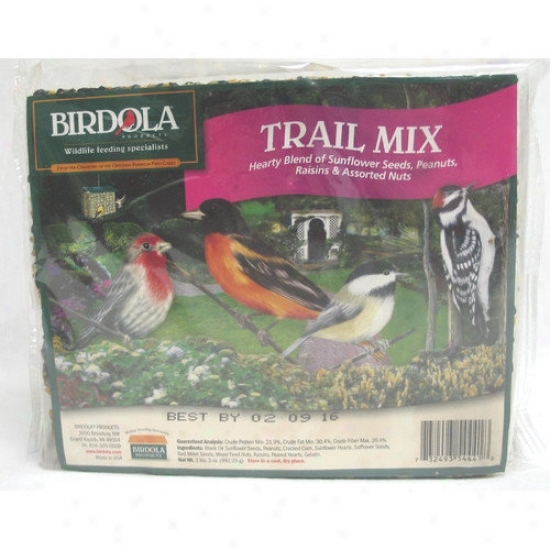 Birdola Products Trail Mix Seed Cake Wild Bird Food
