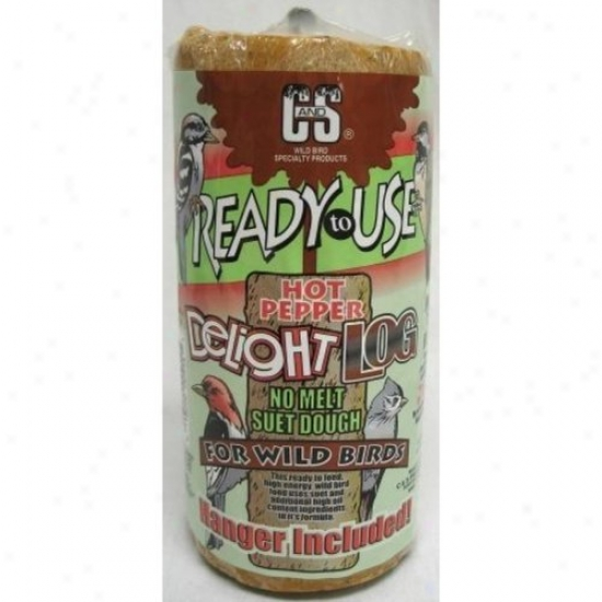 C And S Cs08954 Rtu Ardent Pepper Delight Suet Log