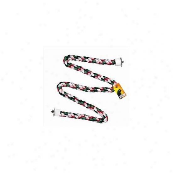 Caitec 385 Cotton Zig Zag Prch 9/10 Inch Diam X 61 Inch Straight