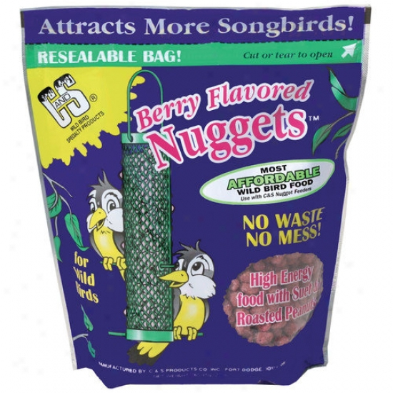 C↦s Products Berry Undomesticated Bird Nuggets