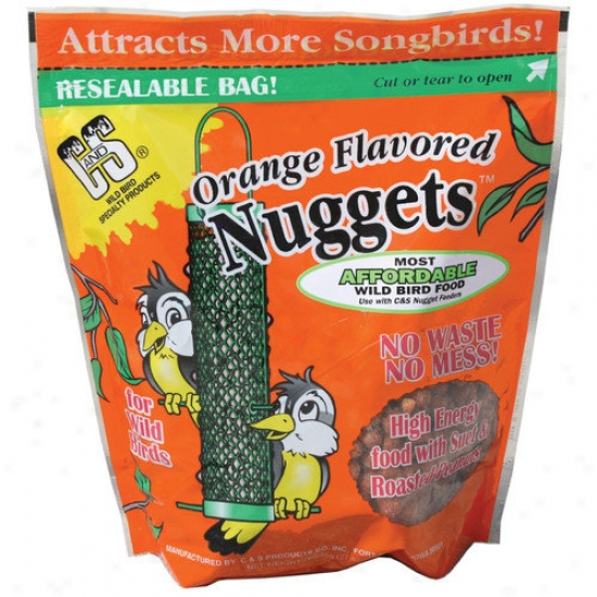 C&qmp;s Products Orange Wild Bird Nuggets
