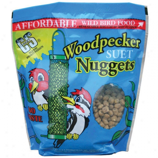 C&s Products Woodpecker Wild Bird Suet Nuggets
