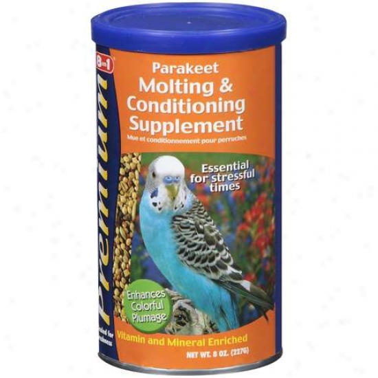 Eight In One Parakeet Moulting Food 8 Ounces - A502