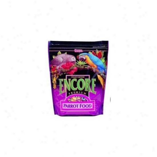 F. M.  Brown S-grocery 51156 Encore Parrot Feed 4# - 51156