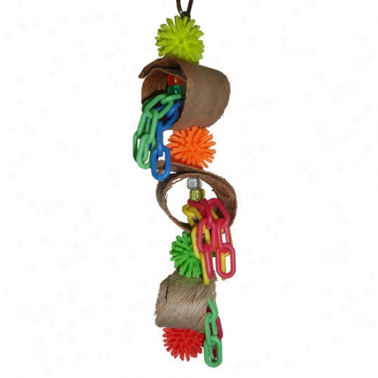 Fetch-it Pets Fiesta Bird Toy