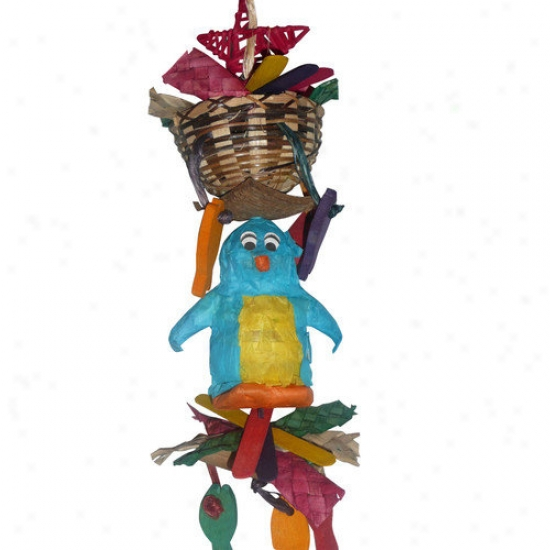Fetch-it Pets Foraging Friend Penguin Bird Toy