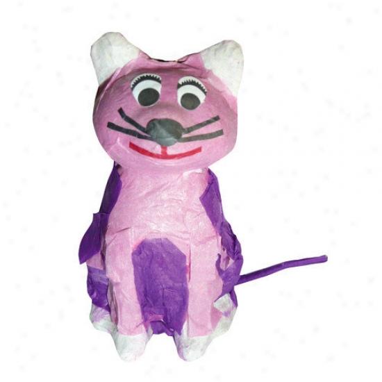 Fetch-it Pets Mini Poply Wanna Pinatas Kitty Bird Toy